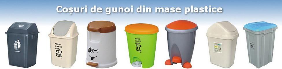 La noi găsiți cu siguranță un model de coș de gunoi din mase plastice care să vă convină, și ca funcționalitate, și ca preț